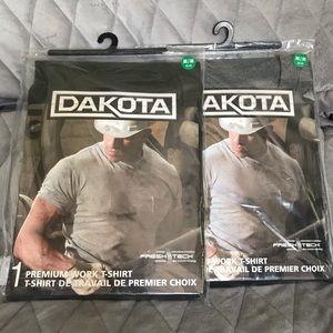 NWOT Dakota Work shirts
